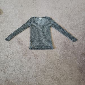 Soft ribbed scoopneck one eleven by Express